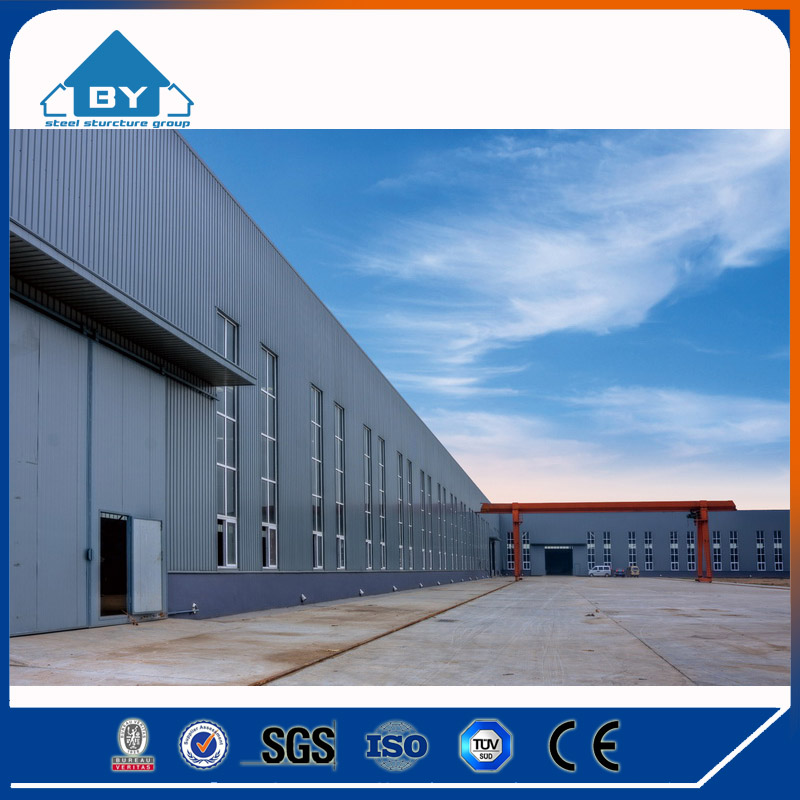 Splendid China design prefabricated multi-storey Steel Structure workshop and warehouse (BY-O1211)