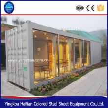 Chinese supplier log tiny metal steel glass wood shipping luxury modular prefab container homes