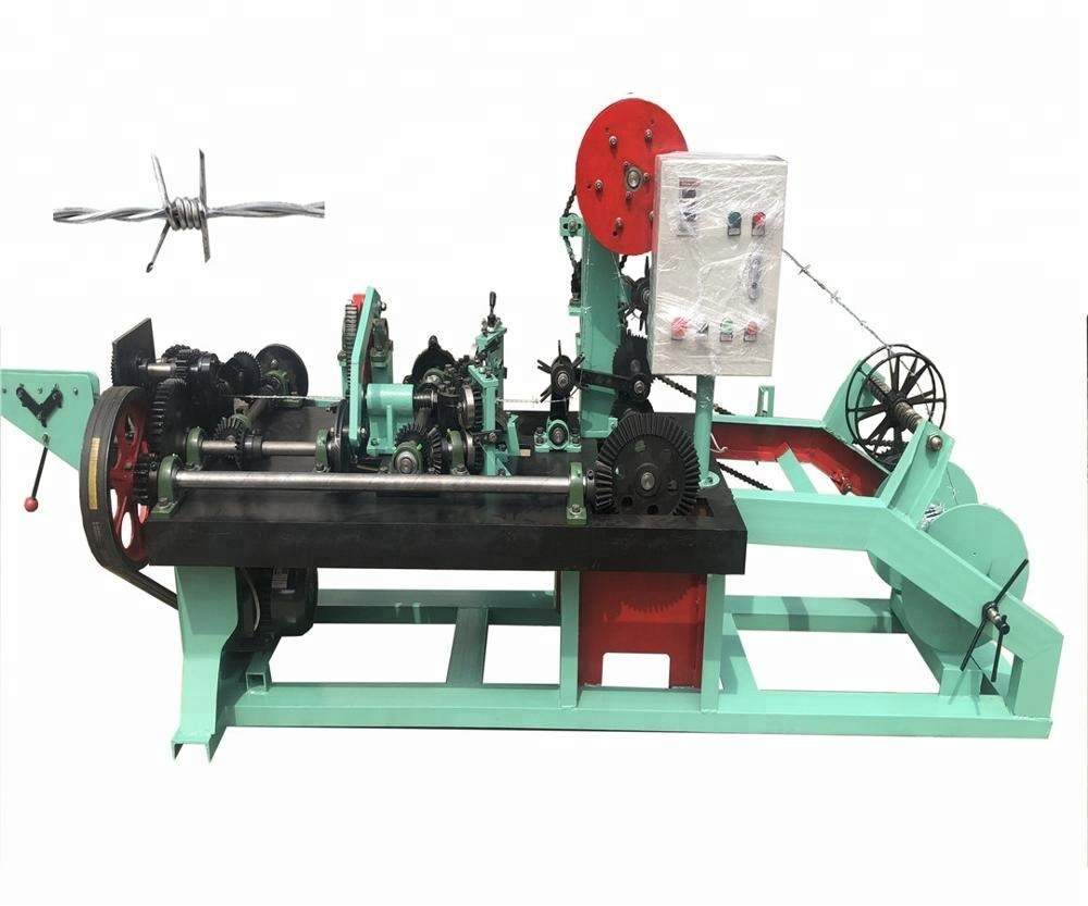 Double Wire Reverse Twist Barbed Wire Machine From <strong>Manufacturer</strong>