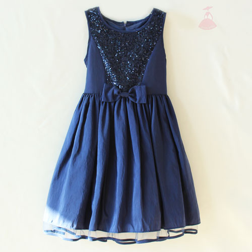 sequins evening dress traditional formal evening dress fashion kids party wear