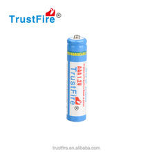 Trusfire Ni-MH AAA 1.2V 900mAh button top rechargeable battery 4 pcs pack