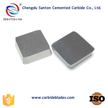 4XH16L cemented tungsten carbide indexable milling Inserts
