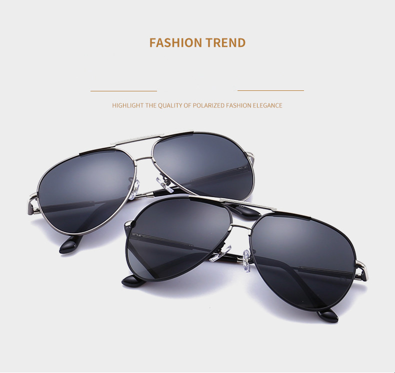 2017 new men's fashion sunglasses lenses UV400 Polaroid polarized sunglasses wholesale