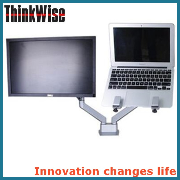 Think Wise S204 Master double gas loading VESA / laptop monitor arms