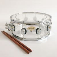 "14"" x5.5"" Clear Acrylic Snare Drum"