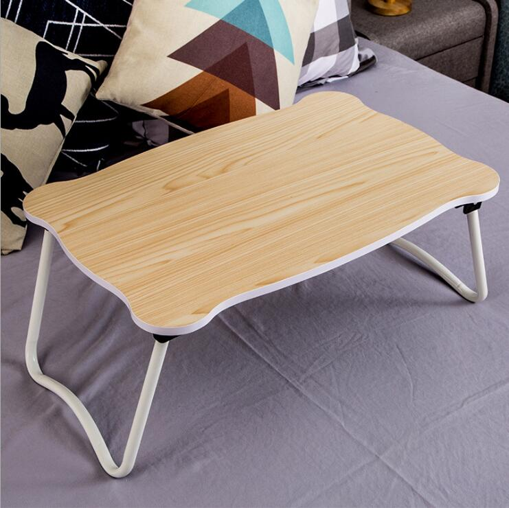 Custom wholesales portable wooden bamboo laptop bed table for laptop