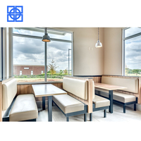 Guangdong furniture coffee shop cheap commercial restaurant booth tables