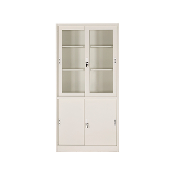 Library Two Open Gl Doors Bookcase