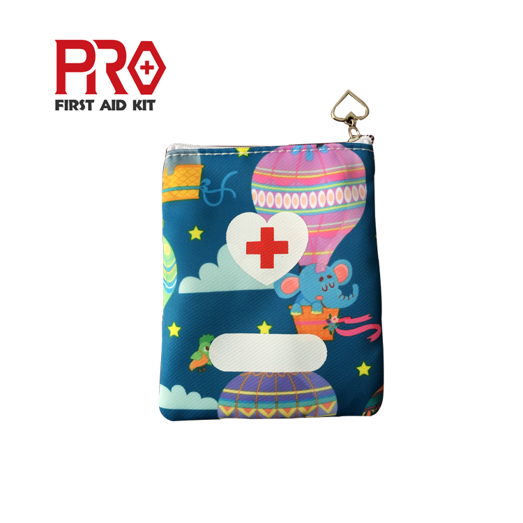 Promotion Beautiful Home Equipment Children love Medical Emergency Survival Baby Mini First Aid Kit for Outdoor Car
