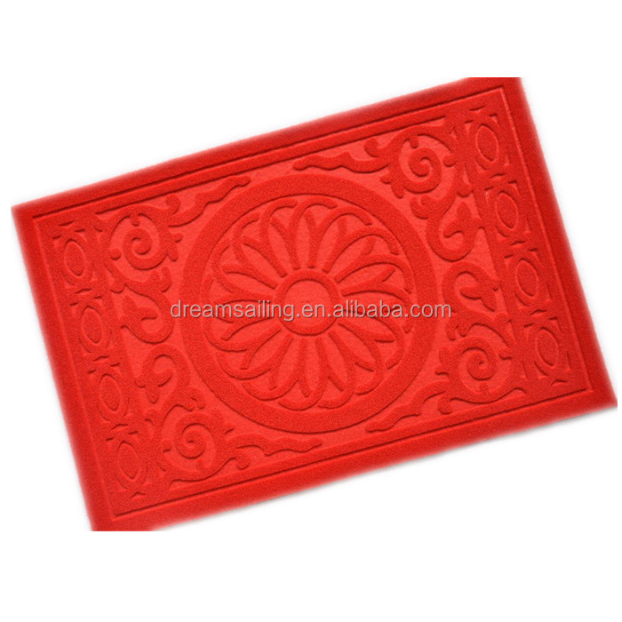 customized logo velour embossed corridor lobby hallway carpet