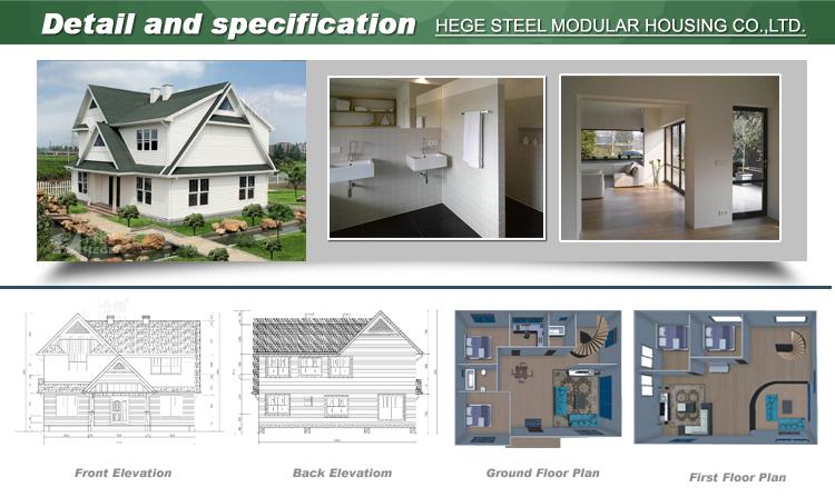 Australia Standard Modular Luxury Prefabricated Steel Frame Houses ...