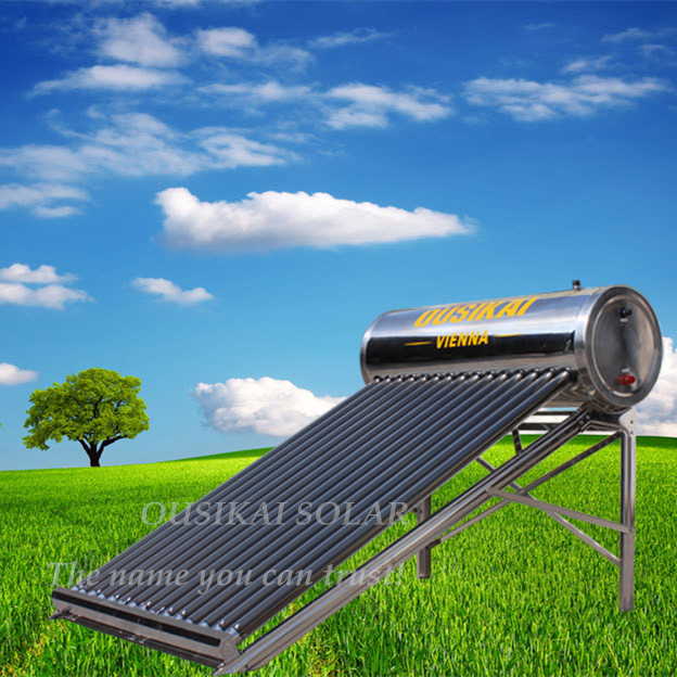 Mexico/Chile/Brazil/Argentina Hot Sale SS Solar Water Heating System