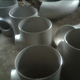 Thick 20 ANSI B16.5 F51/F60 Duplex Stainless steel or copper nickel material Tee tube straight plumbing pipe fitting