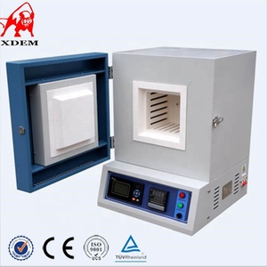Automatic controller 1200 degree electric heat treatment machine box muffle furnace