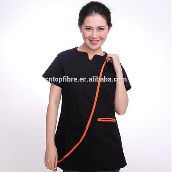 B10372 high quality spa uniforms beauty salon uniform for Spa uniform alibaba