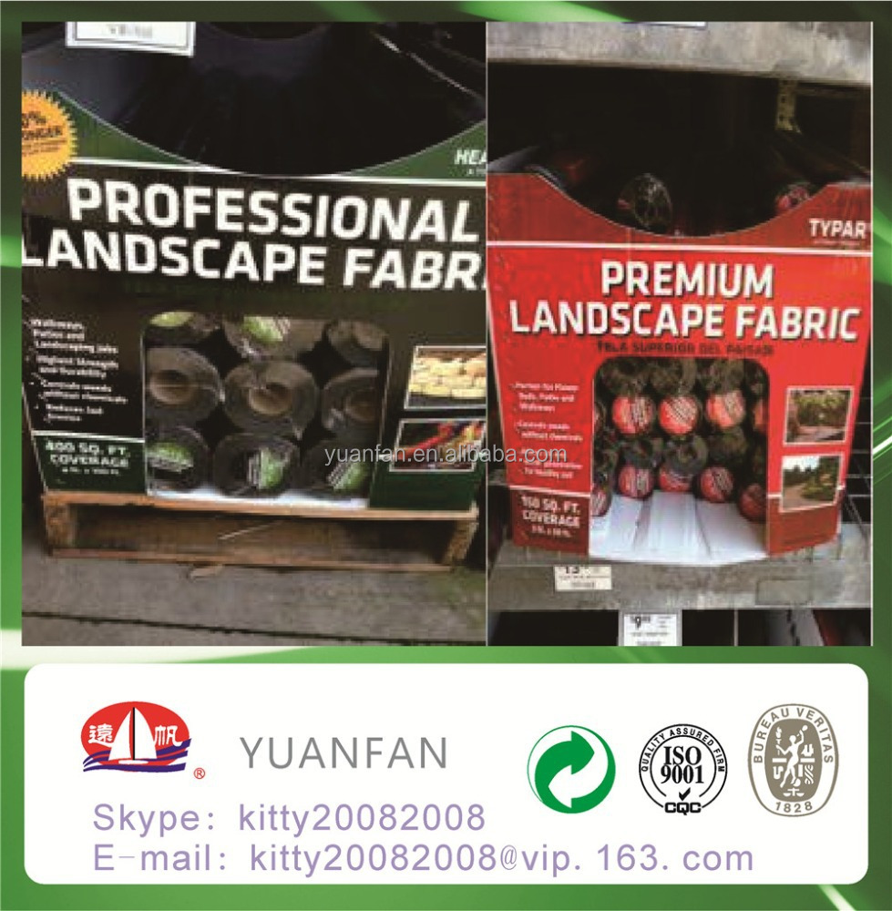 Biodegradable weed control fabric for gardening and agriculture