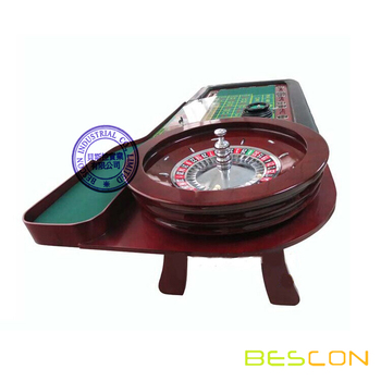Professional casino 96 inch roulette table with deluxe 20 - Table tv a roulettes ...