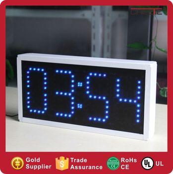 Custom Led Wall Clock With Countdown Timer Dot Matrix Digital Timer