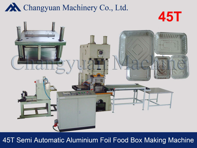 Aluminum Foil Container Machine