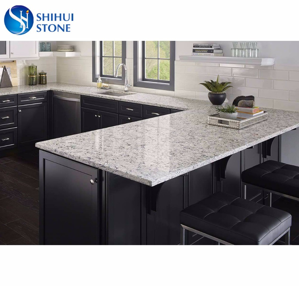 Shs Quartz Kitchen Island Table Top With Competitive Price ...