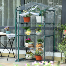 Cheap price with high quality 4 Tiers Mini Garden house
