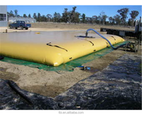 Flexible Inflatable PVC Pillow Water Storage Tanks , PVC Tank Water Storage liquid Tank water bladder