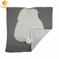 OEM ODM Factory mink cotton shell baby soft thick fleece blanket