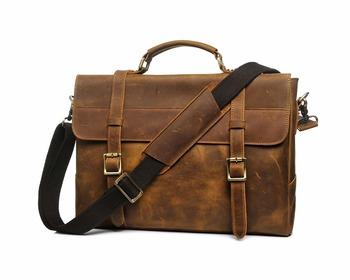 Yd-8049 Italian Design Men Classical Full Grain Genuine Leather Briefcase  Laptop Bag - Buy Leather Laptop Bag 02d67bdb0907c