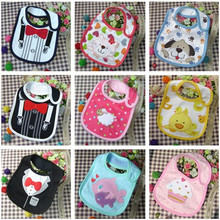 2016 New Cotton Baby Bib Infant Saliva Towels Baby Waterproof Bibs Newborn Wear Cartoon Accessories 3