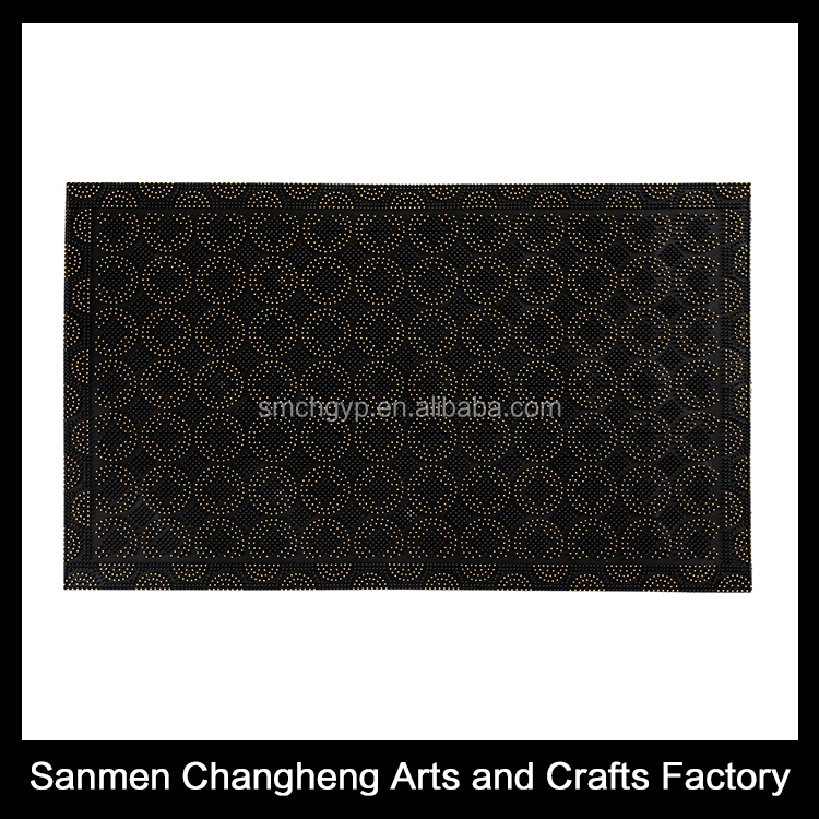 Modern Style Entrance Door Mats 100% PVC floor mat roll