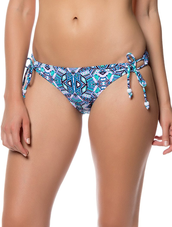 Fancy Jessica Simpson Jessica Simpson Women's Kaleidoscope Printed Side-Tie Bikini Bottom