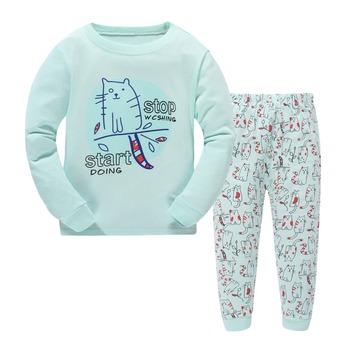 a5dceb4f3772 Cotton Boys Pyjamas Baby Clothes Cartoon Characters Boys Fashion ...