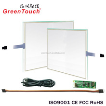 GT 12.1 inch 5 wire Resistive touch screen lcd touchscreen monitor with built in computer