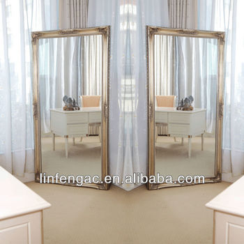 Large Wooden Antique Full Length Decorative Wall Mirrors Buy Decor