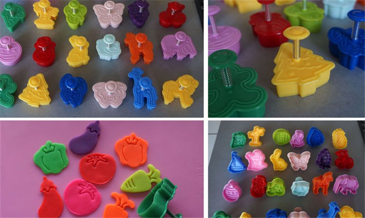 Multifarious Plastic Cookie Cutters (2)