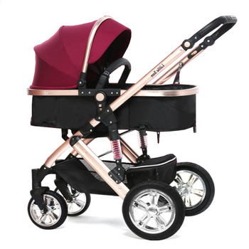 new model foldable classical baby stroller twins baby carriage