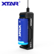 XTAR SC1 2amp 1 slot cost-effective Micro USB fast charger for 3.6V/3.7V Li ion 18650/20700/21700/26650