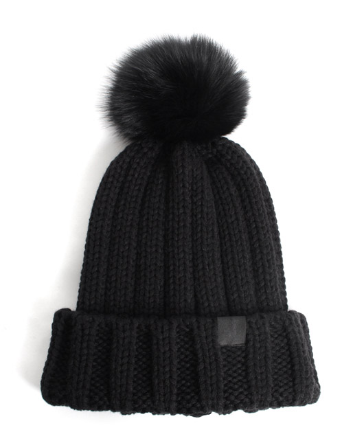 Blank acrylic pom pom benaie hats wholesale knitted hat with top ball