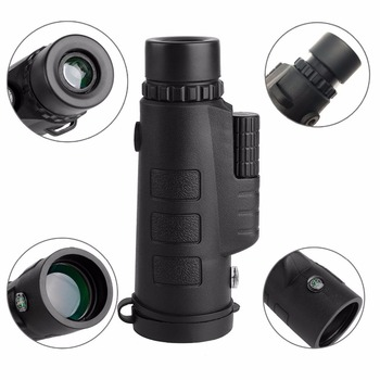 40x60 HD Mini Monocular Telescope With Tripod Cell Phone Holder
