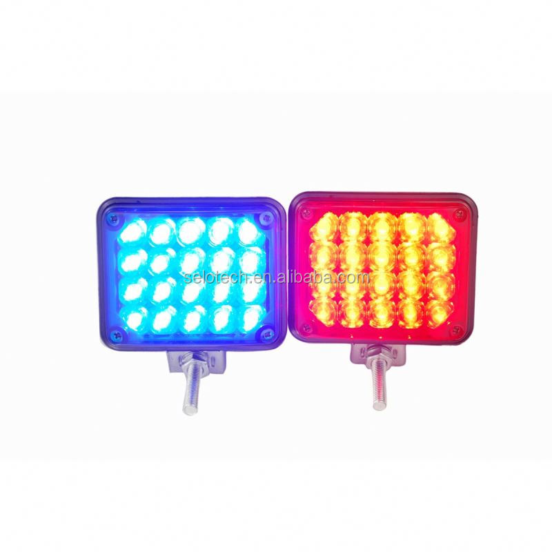 18 leds car strobe light ambulance strobe beacon classic outdoor pendant lamp
