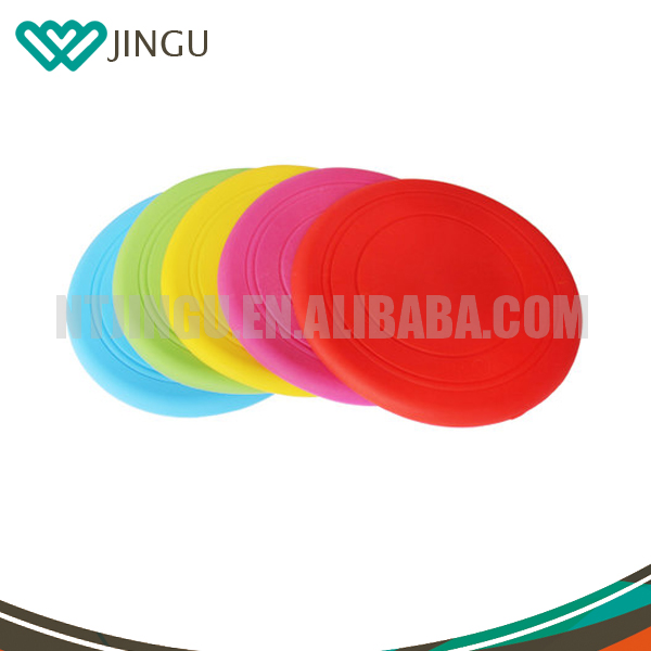 Foldable Frisbee, polyester dog frisbee fan, nylonfrisbee with pouch