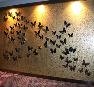 2016 New Modern Art Relief Wall Decoration For Hotel Decoration