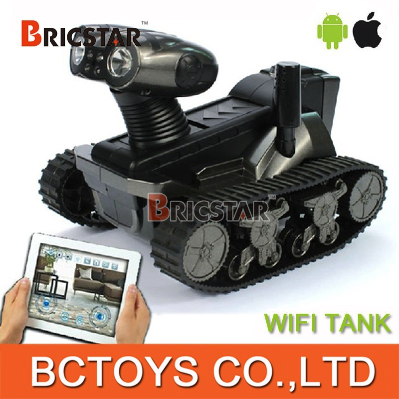 Spy robot LT-728 wireless Iphone/Ipad/Android control RC i-spy tank toys