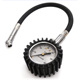 Tire Pressure Gauge with Rubber Hose Air Chuck Measuring Tools