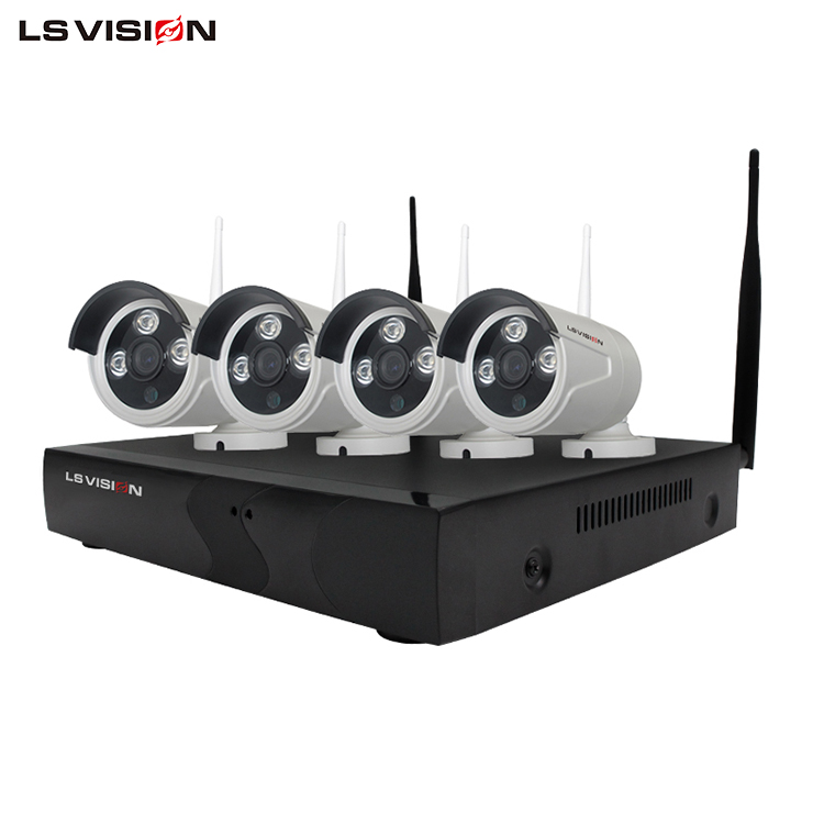 LS VISION Wireless Hidden Mini Camera 4ch 960p Wifi NVR Kit Security Camera Systems