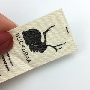 Good prices cotton label for clothing