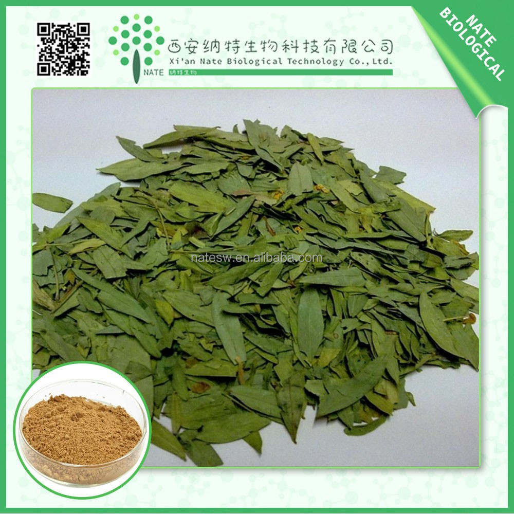 2015 hot sale natural senna leaf extract Sennoside A+ B 4%-60% LOW price