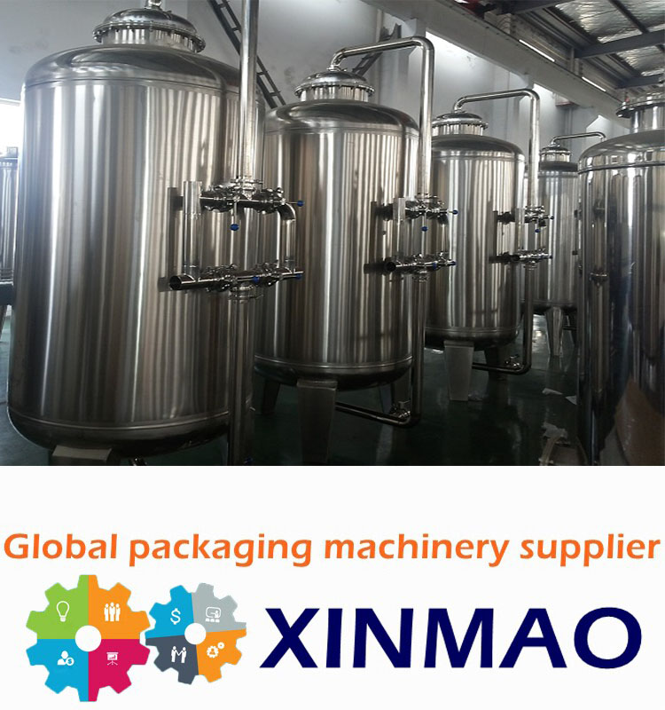 Xinmao Drink Water Small Manufacturing Machines Water Treatment Plant