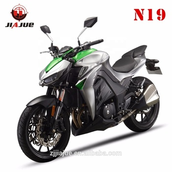 Jiajue 2018 inline two cylidner Water cooled 400CC Z1000 racing motorcycle