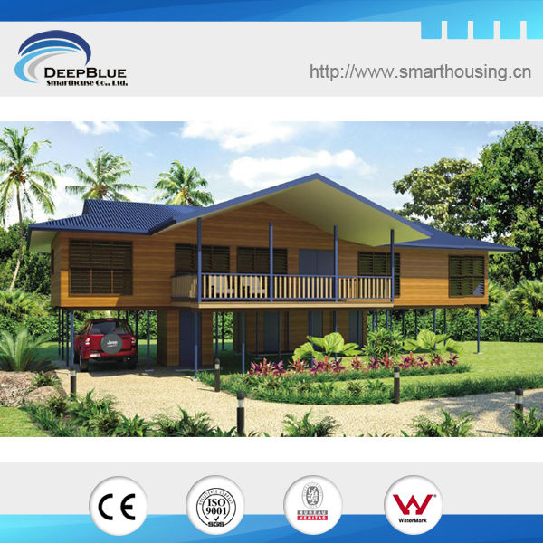 Acero ligero armazones prefabricada bali casas - Casas de acero prefabricadas ...